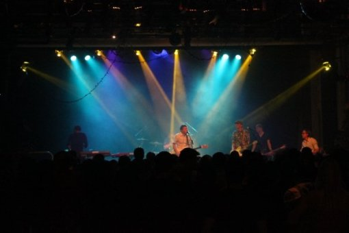The Alamists at their CD release show at the Varsity Theater